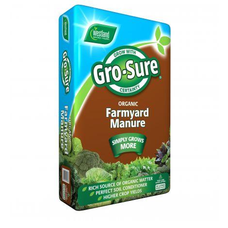 Westland 50lt Gro-Sure Farmyard Manure