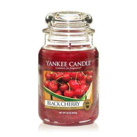 Yankee Candle - Black Cherry Jar L - 623G