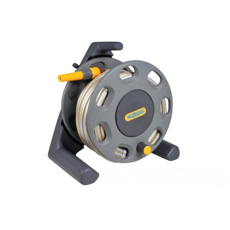 Hozelock 25m Compact Reel with Nozzle