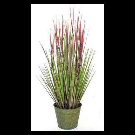 Tree Locate Bamboo Grass In Zinc Pot - 86cm