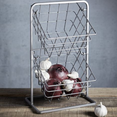 Kitchencraft Industrial 2 Tier Basket