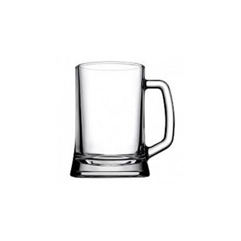 Pasabahce Large Handled Beer Mug