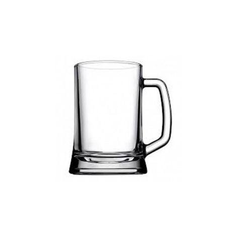 Pasabahce Large Handled Beer Mug