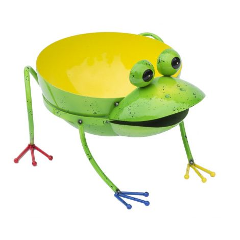 Fountasia Frog Planter XL