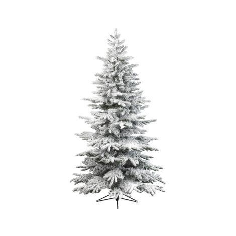 86. Everlands 10ft Snowy Alaskan Artificial Christmas Tree