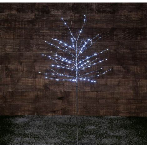 Noma 180 Silver Wrapp Twig Tree Ice White