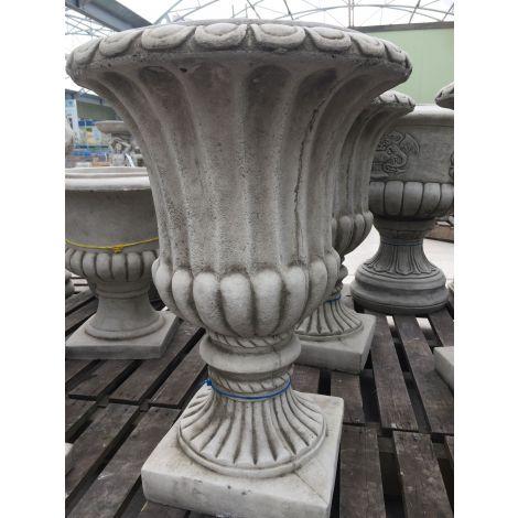 Oakley Flutted Vase
