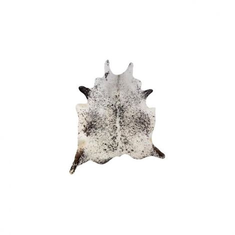 Hanlin Medium Cowhide Black And White Speckled