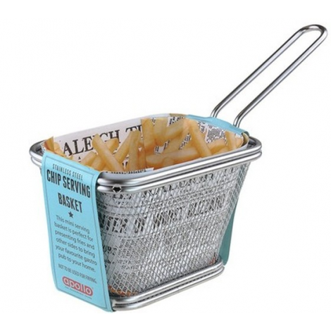 Apollo Chip Serving Basket Medium