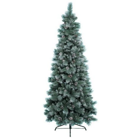 56. Everlands 7ft Frosted Norwich Pine Artificial Christmas Tree
