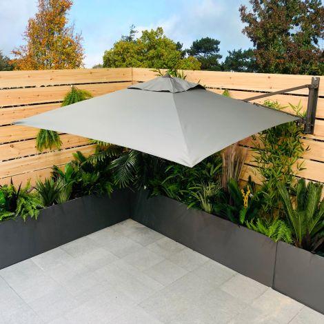Supremo Leisure Wall Mounted Parasol - Grey