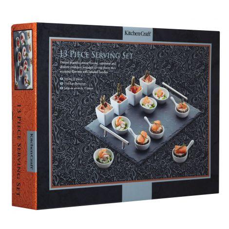 Kitchencraft 13 Piece Appetiser Set