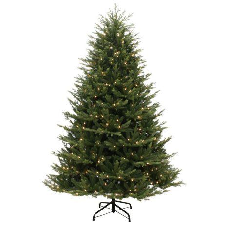 60. Puleo 7ft Keswick Pine Artificial Christmas Tree