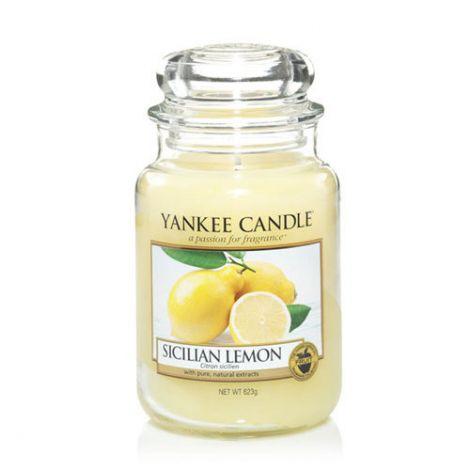 Yankee Candle - Sicilian Lemon Jar L - 623G