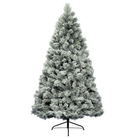8. Everlands 10ft Snowy Vancouver Artificial Christmas Tree