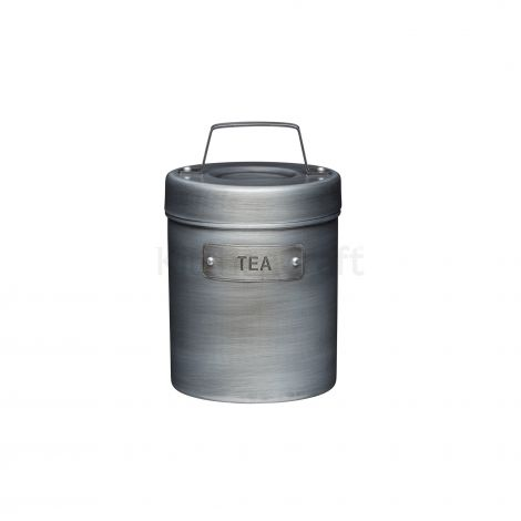 Kitchencraft Industrial Metal Tea Caddy