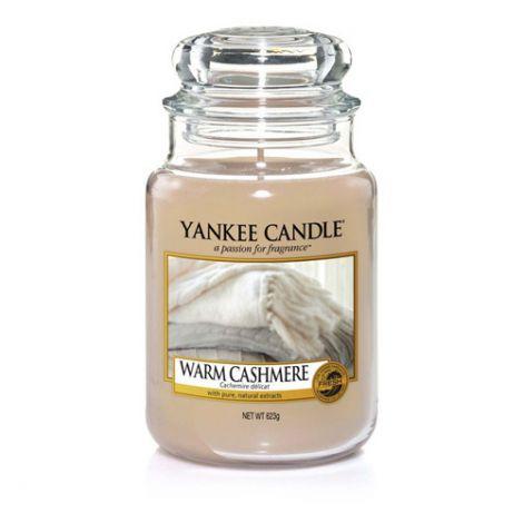 Yankee Candle - Warm Cashmere Jar L - 623G