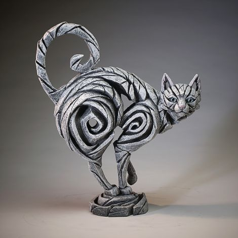 Edge Sculpture - White Cat